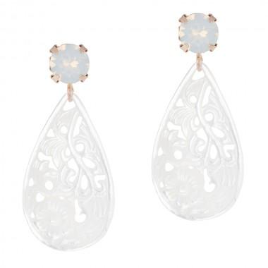 Eos White Opal