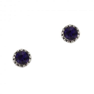Susanne Purple Velvet