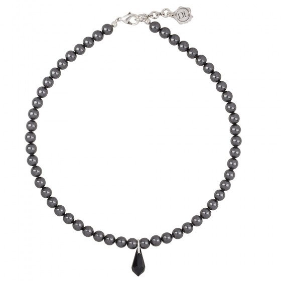 Choker Little Black Pearl