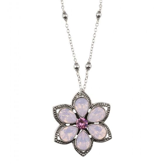Flower of Life Rose Opal